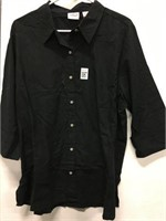 CHIC COLLECTION WOMENS SHIRT SIZE XL