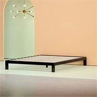 "ZINUS 10"" PLATFORM METAL KING BED FRAME"