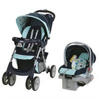 GRACO COMFY CRUISER TRAVEL SYSTEM WITH SNUGRIDE 30