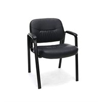 ESSENTIAL LEATHER EXECUTIVE SIDE CHAIR IN