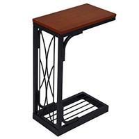 VASAGLE SNACK TABLE HEAVY DUTY SOFA SIDE TABLE