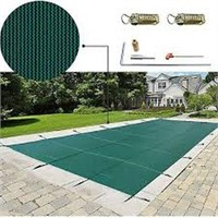 WATER WARDEN RECTANGLE SAFETY POOL COVER 16'X30'
