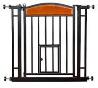 CARLSON WOOD METAL WALK THROUGH PET GATE