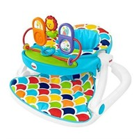 FISHER PRICE SIT-ME-UP FLOOR SEAT TOY TRAY