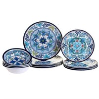 CERTIFIED INTERNATIONAL 12-PIECE TALAVERA MELAMINE