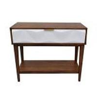 ETTORE WHITE CONSOLE TABLE