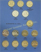 LOT 43 CANADIAN NICKELS 1932 TO 1960