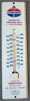 1961 STANDARD AMERICAN OIL ADVERTISING THERMOMETER