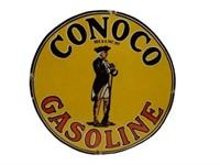 CONOCO GASOLINE SSP SIGN