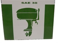 TEXACO OUTBOARD MOTOR OIL SAE30 SSP SIGN