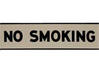 TEXACO NO SMOKING SSP SIGN