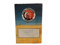 1944 RED INDIAN  HARVEST GOLD FARM MANUAL