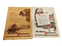 1936 GROUPING  OF 2 FARM MAGAZINES WITH OIL ADV.