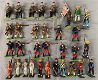 30pc Modern Asian Soldiers Lot