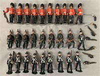 28pc Modern Soldiers Lot