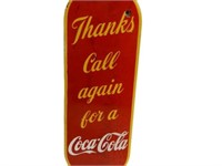 THANKS CALL AGAIN FOR COCA-COLA SSP PALM PUSH