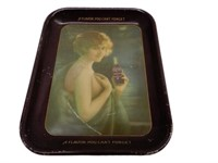1920'S NUGRAPE TIN SERVING TRAY