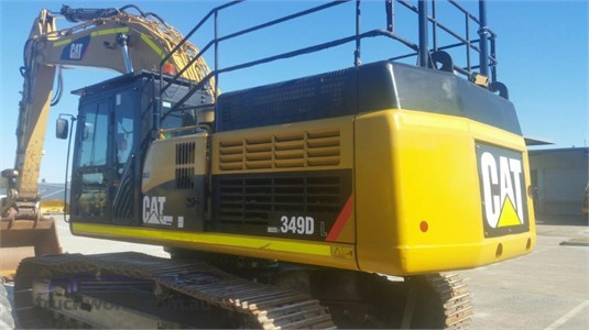 2011 Caterpillar 349DL - Heavy Machinery for Sale