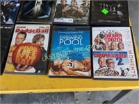 30 DVD's