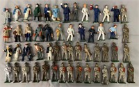 54 Assorted Cast & Iron Dime-Store Figures