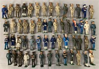 56 Assorted Cast & Iron Dime-Store Figures