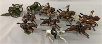 Vintage Britains Royal Artillery Set 37