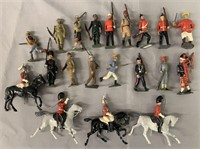 20pc Assorted Vintage Britains Figures