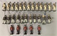 29 Vintage Mignot Soldiers