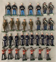 32 Assorted Modern Soldiers