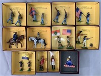 12 Britains American Boxed Soldier Sets