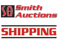 SHIPPING OF AUCTION ITEMS