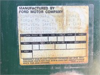 (DMV) 1970 Ford Bobtail 16' Flatbed