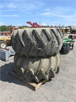 Firestone Harvester 28L-26 Tires & Rims