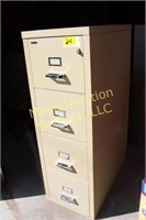 Quill Fire Proof 4-Drawer File Cabinet