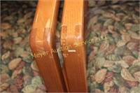 4 - Leaf Pattern Chairs