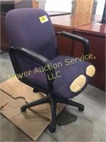 Purple Desk Chair