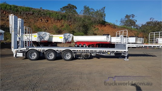 2019 Moore Dropdeck Trailer - Trailers for Sale