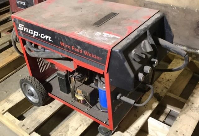 Snap On Mw120 Wire Feed Welder Gregg Auctions