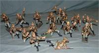 Lineol Modern Metal Figures.