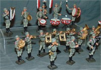 Lineol. German Marching Band.
