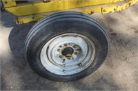 "P&H DC Ark Welder, 2"" Ball, 15"" Tires"