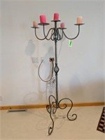 Metal Candelobra Stand
