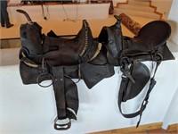 2) Leather Saddles