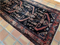 Persian / Iranian Hand Made Carpet Runner