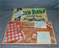 (13) Vintage Political Related Board Games