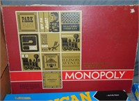 (16) Vintage Finance & Word Related Board Games