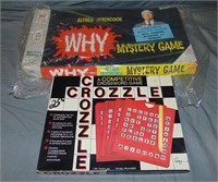 (15) Vintage Assorted Board Games