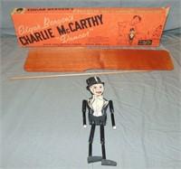 1940's Edgar Bergen Charlie McCarthy Dancer in Box