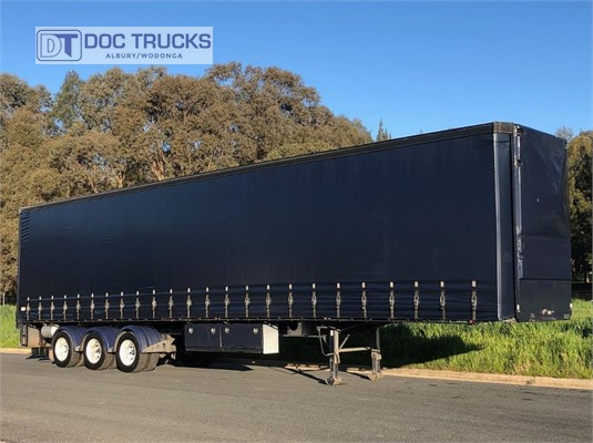2009 Vawdrey 48FT Curtainsider Trailer DOC Trucks - Trailers for Sale