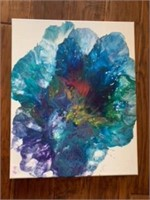16x20 Abstract Art by Mo Cooksey